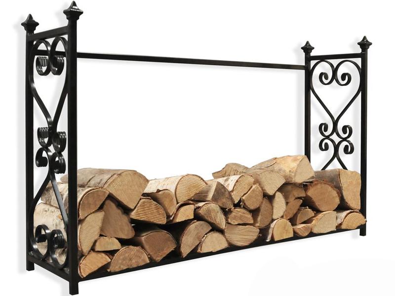WinterFire Zásobník na krbové dřevo ALDI 90 cm