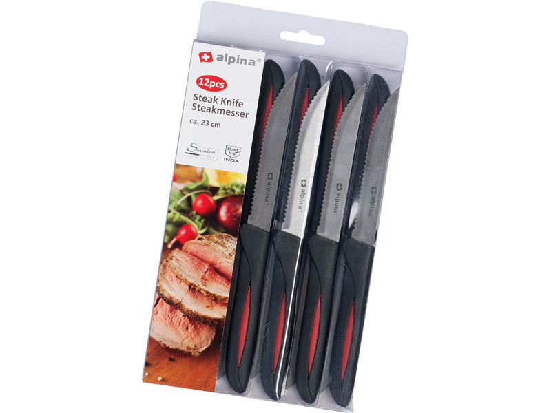 Alpina Steakové nože, 12 ks