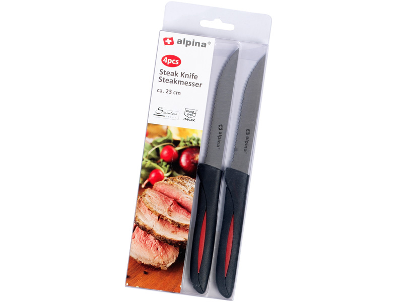 Alpina Steakové nože, 4 ks