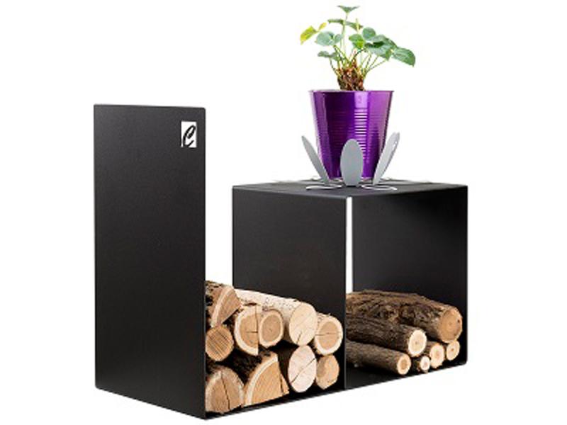 Zásobník na dřevo nízký